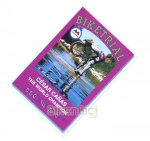 Calcas Biketrial CESAR CA�AS BIKETRIAL Monty - Calca conmemorativa del 3er Campeonato del Mundo de Biketrial Elite ganado por C�sar Ca�as, en 1997.