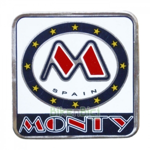 Calcas Biketrial MONTY 221 X-LITE 2002-2003 frontal direcci�n - Calca frontal de los modelos Monty de Biketrial y Trial 221 X-Lite del a�o 2002 y 2003.