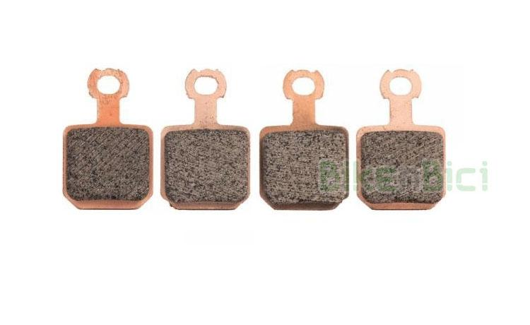 Disc Brake Pad Cooper Base Ceramic Brake Pads with Backplate for Magura