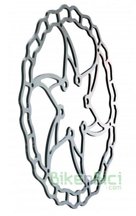 Frenos Biketrial Trial DISCO ASHIMA Ai2 160mm plata - Disco de freno de altas prestaciones, indicado para riders que necesitan un disco de freno ligero y resistente a la vez. 160mm de diámetro. Incluye la tornillería necesaria para instalarlo. Compatible con todos los frenos del mercado. 65 gramos de peso. Especialmente indicado para riders de Biketrial y Trial. EL MÁS LIGERO DEL MERCADO
