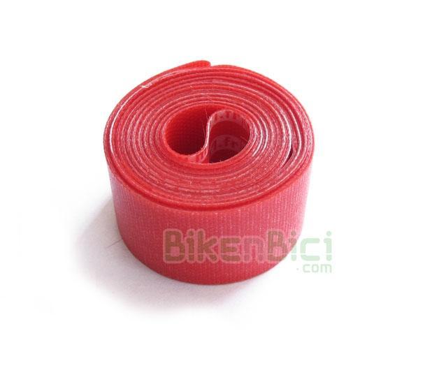 Fondo llanta Trial BIKENBICI 26 PULGADAS Biketrial  - Fondo de llanta para ruedas de 26 pulgadas. Fabricado en PVC de alta resistencia. Ancho de 22mm. Color rojo por un lado y logotipos Mach1 por el otro. Medida ideal para ruedas delanteras. Peso: 19 gramos.