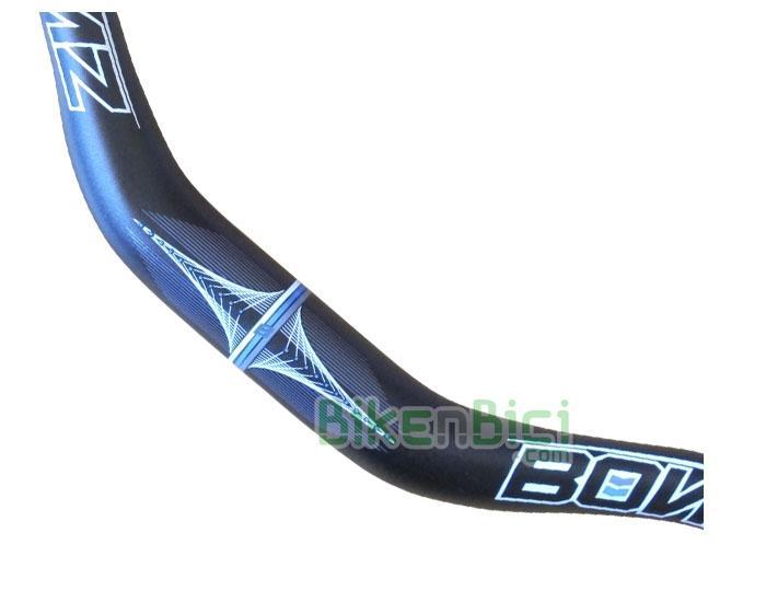 Manillares Biketrial Trial BONZ PRO LIGHT aluminio 720mm - Los manillares BONZ ofrecen una geometría muy polivalente y le dan a la bicicleta un
