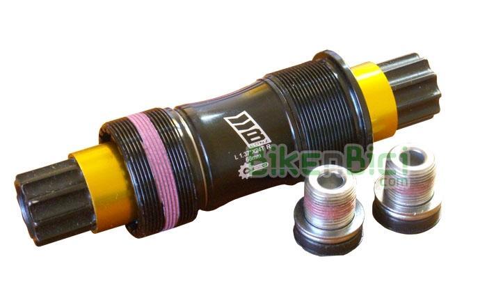 Pedalier Biketrial Trial BONZ PRO LIGHT ISIS 128mm  - Caja de pedalier Bonz Pro Light, montada de origen en las bicicletas Ozonys Curve V3 y V4, para bicicletas con sistema de pedalier tipo ISIS. Eje de acero. Largo de eje de 128mm. Totalmente estanco, gira sobre rodamientos sellados. Compatible con muchos modelos de bicicletas de Biketrial y Trial del mercado. 310 gramos (tornillos incluídos).