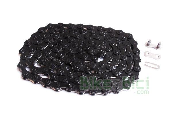 Cadenas Trial CLEAN Z610HX LIGHT Biketrial negra - La cadena CLEAN Z610HX light es la que ofrece la mejor relación peso/resistencia. Su estructura en acero le confiere una alta resistencia contra los esfuerzos y tensiones repetitivos. Se entrega con un enganche rápido específico para cerrarla. Elegante color  negro. 375 gramos.