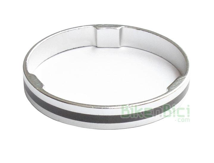 Espaciadores Trial CLEAN ALUMINIO Biketrial 5mm - Espaciador CLEAN de aluminio. Para horquillas de diámetro 1-1/8