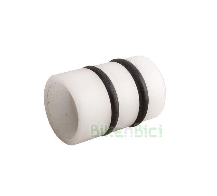 Frenos Trial CLEAN PISTÓN BOMBA T13 Biketrial - Pistón original CLEAN para todas bombas de freno de la marca. 13mm de diámetro. Mecanizado en plástico de alta calidad para un perfecto deslizamiento dentro del cuerpo de la bomba. Incluye dos retenes de goma de 9x2 y diferentes espesores para evitar pérdidas de aceite. 2,4 gramos de peso.