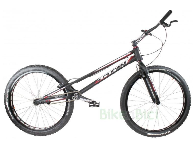 Bicicletas Trial CLEAN X1 2017 26 PULGADAS Biketrial - Bicicleta Clean X1 2017 de 26 pulgadas para Trial y Biketrial. Pedalier a rosca tipo ISIS de 128mm, dirección Tapered 1,5