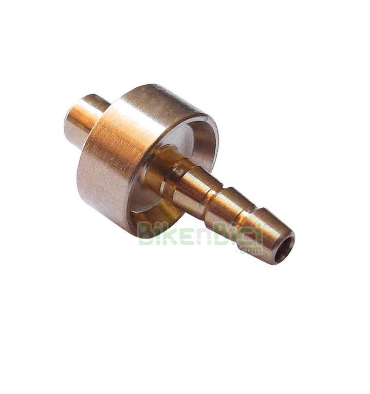 Repuestos Freno Trial HOPE PIN LATIGUILLO Biketrial - Rácor extremo cable de freno original Hope. Este componente va situado en los extremos del latiguillo de freno. Compatible con todas las bombas de las gamas Mono Trial y Trial Zone. Recambio original Hope.