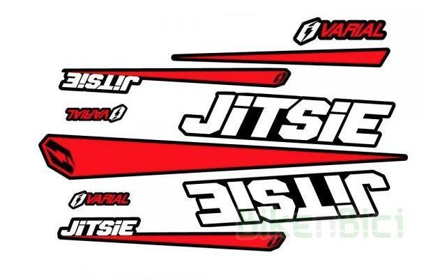 Calcas Trial JITSIE VARIAL ROJO Biketrial - Conjunto de calcas Jitsie Varial en color rojo para todos los modelos de la gama Varial (excepto modelo 18