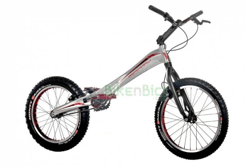 Bicicletas Trial MONTY 221K Biketrial frenos Magura HS33 - La Monty 221K de Trial es la bicicleta de Biketrial perfecta tanto para competir como para entrenar. Su chasis monocasco de aluminio 6061, su horquilla especial y sus frenos Magura HS33 la hacen una bici de muy alta calidad y grandes prestaciones. La Monty 221K es una bicicleta para profesionales y aficionados que no deja indiferente. Acabado en color plata. Peso: N.D.