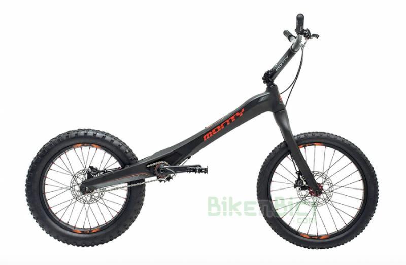Bicicleta MONTY M5 OS CARBONO