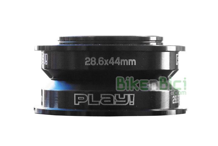 Direcciones Trial PLAY SEMIINTEGRADA 44mm Biketrial aluminio - Dirección semi integrada Play superligera. Para todos los modelos de bicicleta con dirección semiintegrada en medida 1-1/8