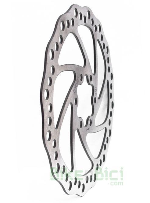 Frenos Biketrial Trial DISCO TEKTRO 160mm Mountain Bike MTB - Disco de freno Tektro compatible con todos los sistemas de freno del mercado. 160mm de diámetro. Sistema de fijación internacional mediante 6 tornillos.