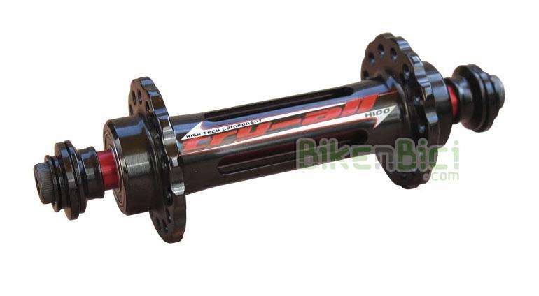 Bujes Trial TRY-ALL K2 Biketrial delantero - Buje delantero Try-All K2. Cuerpo fabricado en aluminio CNC 6061-T6. Eje de aluminio 7075-T6 de 10mm. Compatible con llantas 28 radios. Exclusivamente para frenos hidráulicos de llanta o V-Brake. Ancho de 100mm (universal). Su peso es de 90 gramos (verificado).
