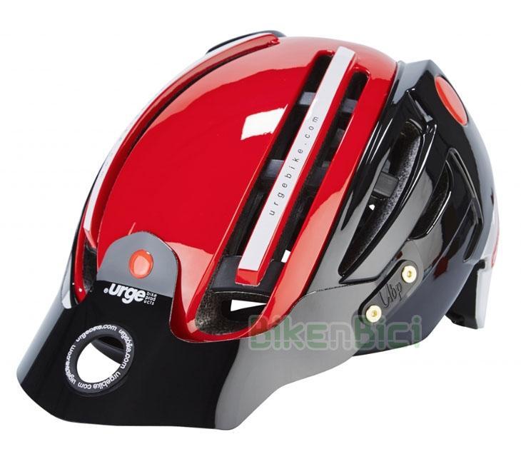 Cascos Trial URGE ENDUR-O-MATIC 2 ROJO 2016 Biketrial - Casco de la marca Urge para Trial y Biketrial de la marca Urge, modelo Endur-o-Matic 2. Óptima superficie de protección con tecnología
