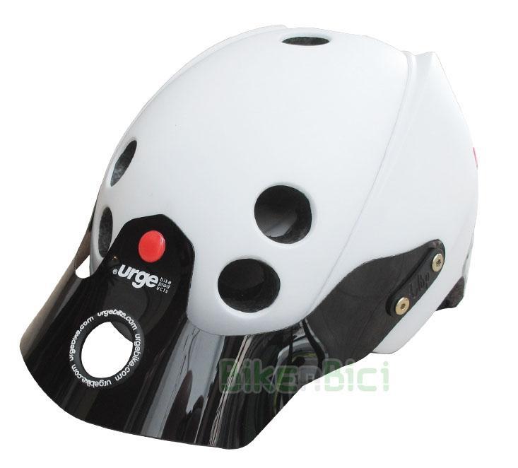 Cascos Trial URGE ENDUR-O-MATIC BLANCO Biketrial - El casco para Biketrial y Trial Urge Endur-O-Matic se inspira en los Downhill y Enduro y se caracteriza por una óptima superficie de protección con tecnología