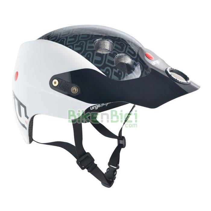 Cascos bicicleta URGE ENDUR-O-MATIC ORIGINAL WHITE Biketrial Trial - El casco para Biketrial y Trial Urge Endur-O-Matic se inspira en los Downhill y Enduro y se caracteriza por una óptima superficie de protección con tecnología
