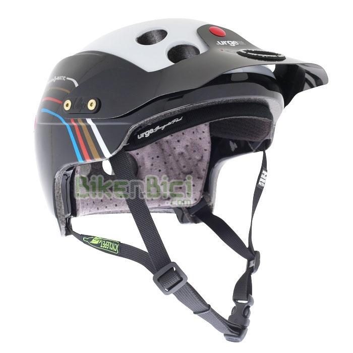 Cascos bicicleta URGE ENDUR-O-MATIC AIRLINE Biketrial Trial - El casco para Biketrial y Trial Urge Endur-O-Matic se inspira en los Downhill y Enduro y se caracteriza por una óptima superficie de protección con tecnología