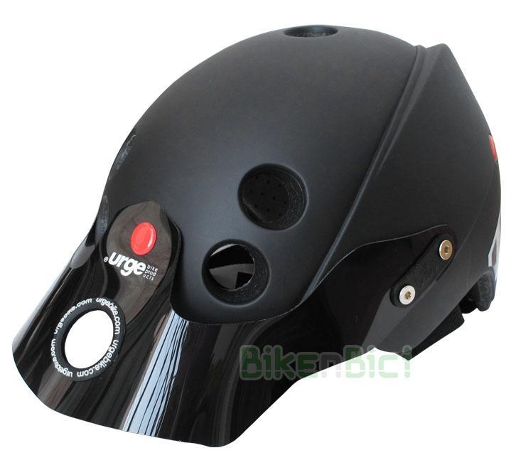 Cascos Trial URGE ENDUR-O-MATIC NEGRO Biketrial - El casco para Biketrial y Trial Urge Endur-O-Matic se inspira en los Downhill y Enduro y se caracteriza por una óptima superficie de protección con tecnología