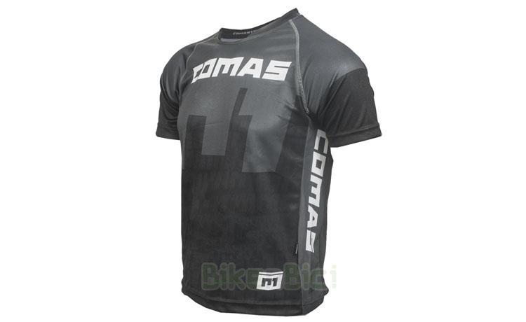 Camisetas Trial COMAS MANGA CORTA GRIS Biketrial