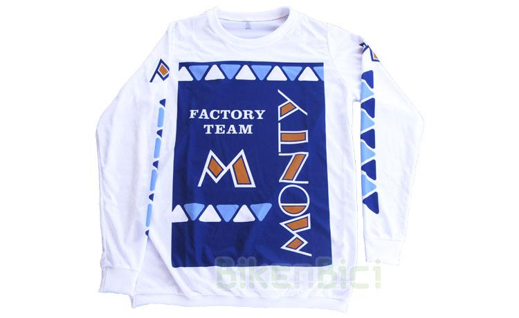 CAMISETA TRIALSIN MONTY REPLICA FACTORY TEAM 1983 (BAJO PEDIDO)