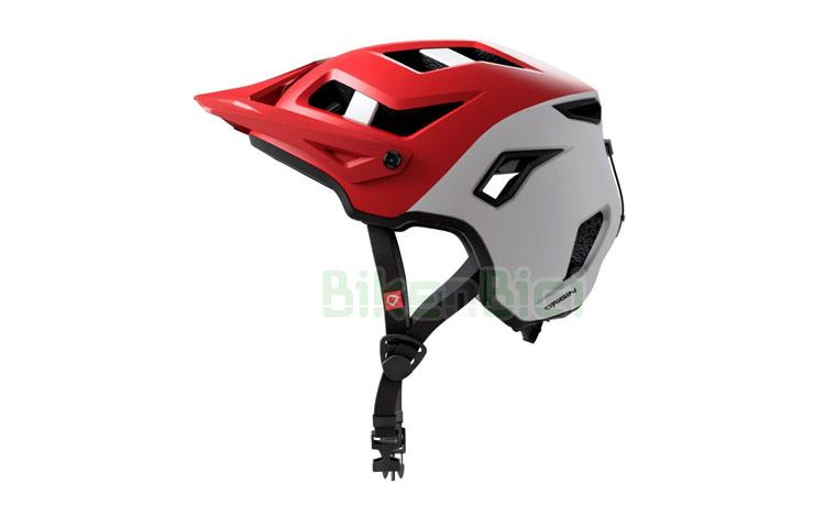 CASCO TRIAL HEBO ORIGIN ROJO / BLANCO