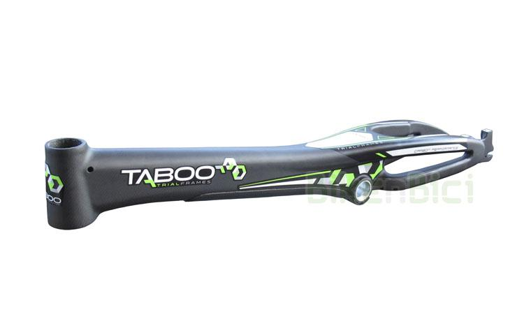 Chasis TABOO TRIAL FRAMES V5 CARBONO 1010mm