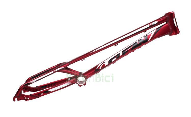 Chasis Trial CLEAN X2 TAPERED Biketrial DISCO  - Chasis de la marca Clean modelo X2 de 20 pulgadas. Fabricado en aluminio 6061-T6 y 7075-T6. Pipa de dirección Tapered 1,5