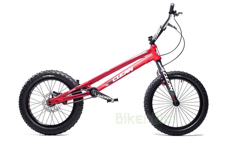 Bicicleta CLEAN X1 20 PULGADAS 1005mm FRENOS TRIALTECH HOPE