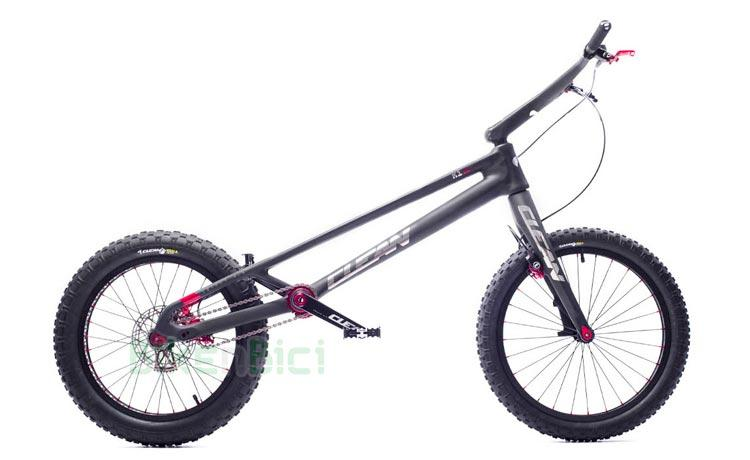 BICICLETA TRIAL CLEAN K1.2 FIBRA DE CARBONO 20 PULGADAS WORLD CUP