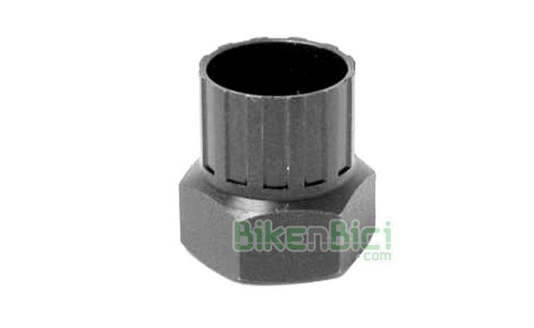 Herramientas Bicicleta Extractor Cassette Piñones Shimano 6C - Herramienta para el desmontaje de cassettes de piñónes Shimano 6C. Acabado en hexágono para llave fija o de vaso. Fácil uso.