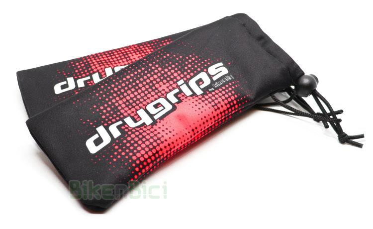 PROTECTOR PUÑOS TRIAL IMPERMEABLE DRYGRIPS ROJO