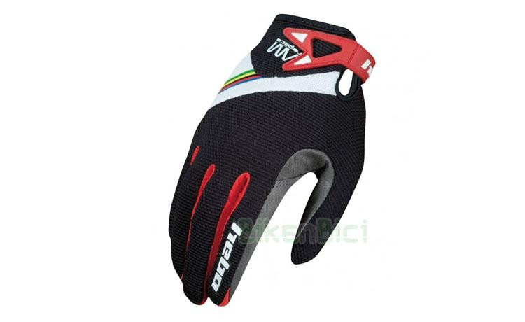 GUANTES TRIAL HEBO ABEL MUSTIELES REPLICA INFANTIL NEGRO