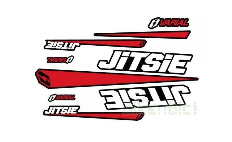 Calcas JITSIE VARIAL ROJO - Conjunto de calcas Jitsie Varial en color rojo para todos los modelos de la gama Varial (excepto modelo 18