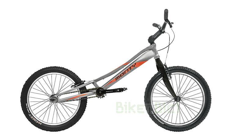 Bicicletas Trial MONTY 207 KAIZEN Biketrial - Bicicleta de Trial y Biketrial de la marca Monty para niños de entre 7 y 12 años. Chasis fabricado en aluminio 6061-T6 de alta calidad. Frenos de llanta V-Brake. Ruedas de 20 pulgadas. Llantas con cantos pulidos. Neumáticos Monty Endurance. Desarrollo adecuado a la edad del piloto. Peso: 8,680 kg.