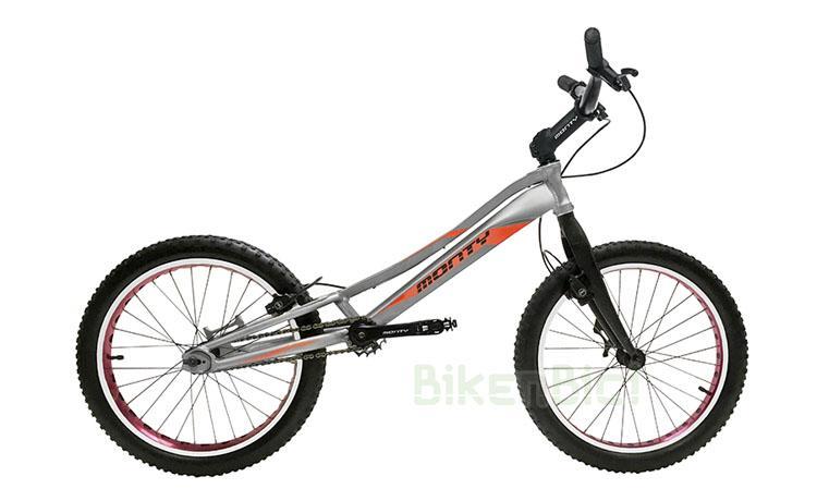Bicicleta MONTY 209 KAIZEN - Bicicleta de Trial y Biketrial de la marca Monty para niños de entre 7 y 12 años. Chasis fabricado en aluminio 6061-T6 de alta calidad. Frenos hidráulicos de llanta Magura HS33. Ruedas de 20 pulgadas. Llantas aligeradas. Neumáticos Monty Trialcore. Desarrollo adecuado a la edad del piloto. Peso: N.D.