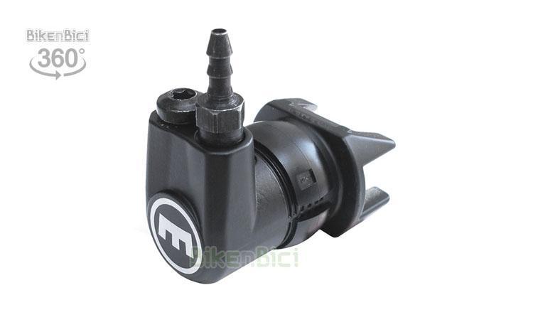Frenos Trial BOMBÍN MAGURA HS33 DERECHA M6/M8 Biketrial - Bombín de freno hidráulico Magura HS33. Es compatible con los modelos HS33, HS22 y HS11. Nuevo modelo con entradas de racor de M6 y M8, por lo que puede ser montado en ambos lados. Se suministra con racor de entrada de latiguillo y tornillo de purgado,  necesarios para montar en el lado derecho del freno. Acabado en color negro. Peso de 55 gramos (incluyendo los racors)
